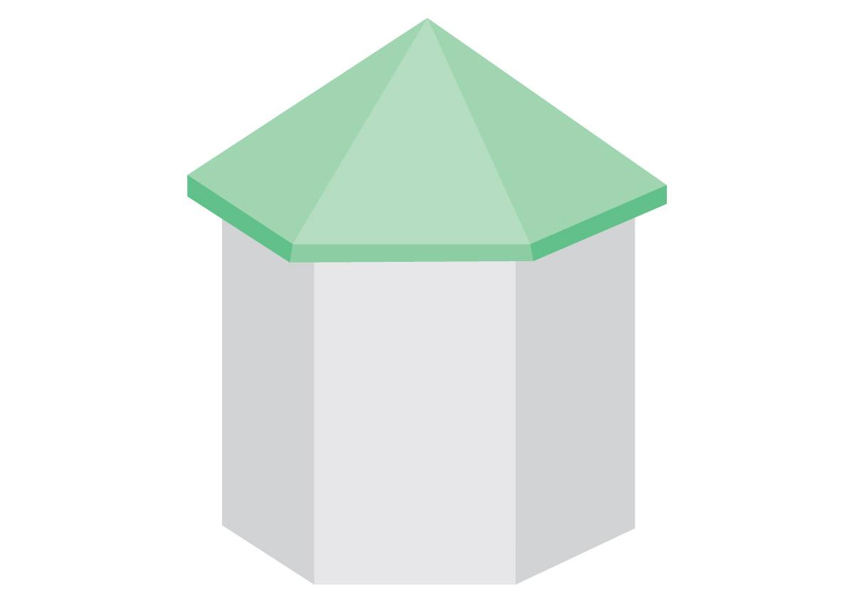 Павильонная крыша